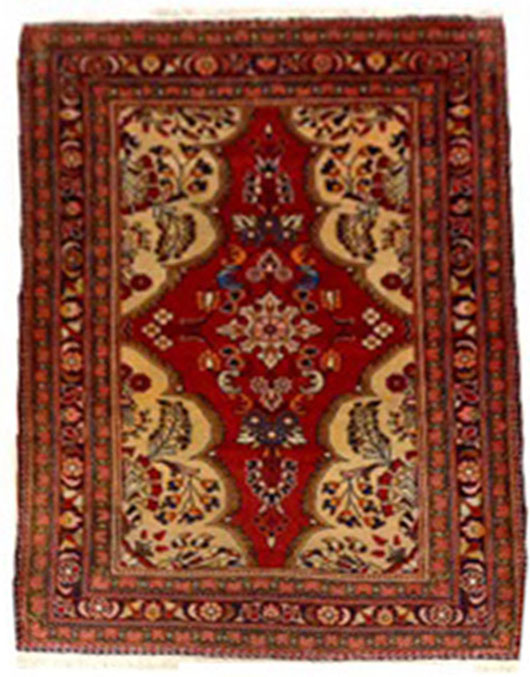 Hamadan Persian Carpet 5.2x3.10