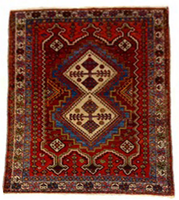Afshar carpet 6.8x4.9