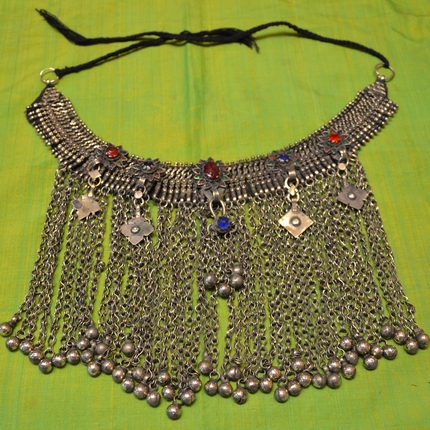 Afghan necklace Kuchi tribe