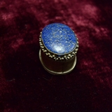Jewellery box with lapis lazuli