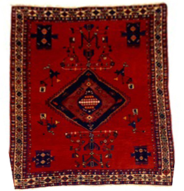 Afshar carpet 6.8x5.0