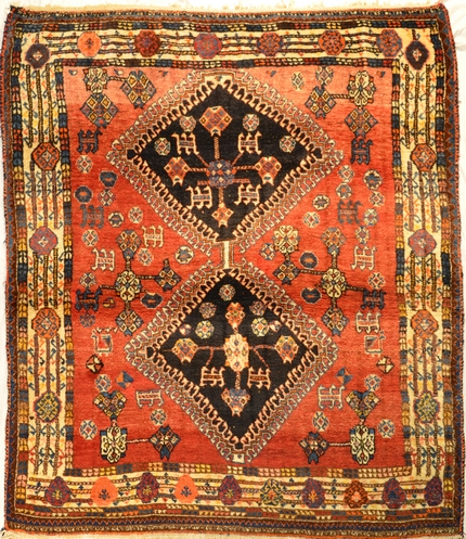 Afshar Tribe Carpet  5.11x4.11
